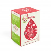 T + Boost Wellness Vitamin Tea With Raspberry and Pomegranate
